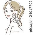ベクター ビューティー 女性のイラスト 24017709