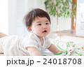 赤ちゃん 男の子 人物の写真 24018708