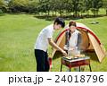 BBQ キャンプ キャンプ場の写真 24018796