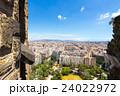サグラダファミリアからのバルセロナ 24022972