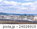 新幹線と東寺五重塔 24026910