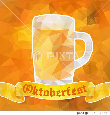 Oktoberfest sign. Beer mug. Vector illustration 24027866