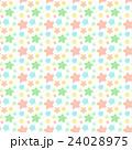 星 パターン カラフルのイラスト 24028975