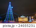 建築物 クリスマス クリスマスツリーの写真 24035231