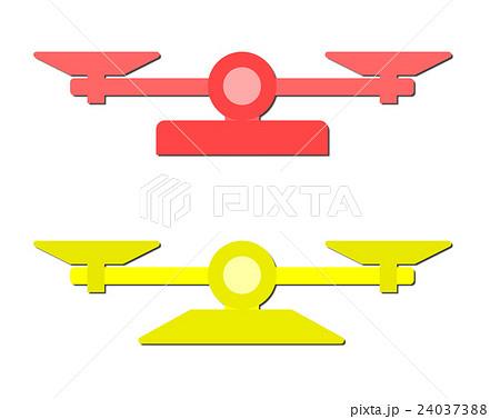 天秤のイラスト素材 24037388 Pixta