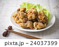 唐揚げ 揚げ物 鶏肉の写真 24037399