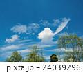 夏空 青空 雲の写真 24039296