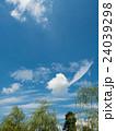 夏空 青空 雲の写真 24039298