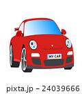 赤い自動車、スポーツカー 24039666