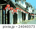 柳井市 白壁の町並み 民芸品の写真 24040373
