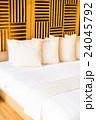 バックグランド ベッド ベットルームの写真 24045792