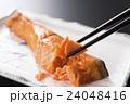 焼き鮭 焼きしゃけ 焼き魚の写真 24048416