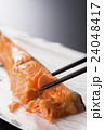 焼き鮭 焼きしゃけ 焼き魚の写真 24048417