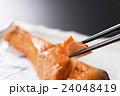 焼き鮭 焼きしゃけ 焼き魚の写真 24048419