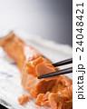 焼き鮭 焼きしゃけ 焼き魚の写真 24048421