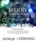 Abstract Beauty Christmas and New Year background 24064941