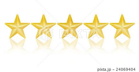 5つ星 のイラスト素材 [24069404] - PIXTA