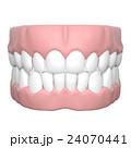 人間の歯と歯茎の3Dレンダリング画像 24070441
