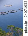 ブリの養殖筏 24071932