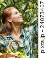 農業 りんご アップルの写真 24073407