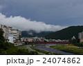 下呂温泉街と飛騨川 24074862