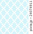 雪の結晶パターン 24074911