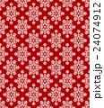 雪の結晶パターン 24074912