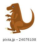 恐竜 ティラノサウルス イラスト 24076108