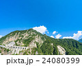 夏 中部山岳国立公園 山岳の写真 24080399