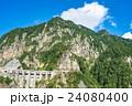 夏 中部山岳国立公園 山岳の写真 24080400