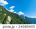 夏 中部山岳国立公園 山岳の写真 24080405