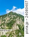 夏 中部山岳国立公園 山岳の写真 24080407