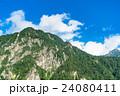 夏 中部山岳国立公園 山岳の写真 24080411