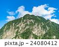 夏 中部山岳国立公園 山岳の写真 24080412