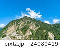 夏 中部山岳国立公園 山岳の写真 24080419
