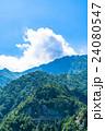 夏 中部山岳国立公園 山岳の写真 24080547