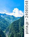 夏 中部山岳国立公園 山岳の写真 24080548