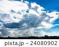 雨雲 ゲリラ豪雨 豪雨の写真 24080902