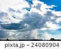 雨雲 ゲリラ豪雨 豪雨の写真 24080904