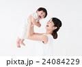 母子 赤ちゃん 母親の写真 24084229