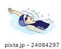背泳ぎ 24084297