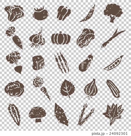 蔬菜 illustration 數字動畫 24092301