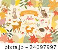 秋の森のイラスト 24097997