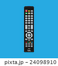 Black modern remote TV Control 24098910