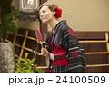 ポートレート 外国人 女性の写真 24100509