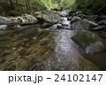 菊池渓谷 川 清流の写真 24102147