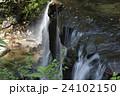 菊池渓谷 川 滝の写真 24102150