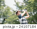 Japanese woman golfer , housewife 24107184