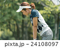 Japanese woman golfer , housewife 24108097
