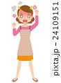 女性 主婦 表情 カンカンに怒る 24109151